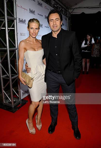 Actor Demian Bichir and wife Lisset Gutierrez attend the Fox Searchlight TIFF party during the 2013 Toronto International Film Festival at Spice...