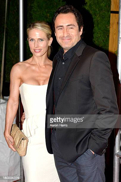 Actor Demian Bichir and wife Lisset Gutierrez attends the Fox Searchlight TIFF party during the 2013 Toronto International Film Festival at Spice...