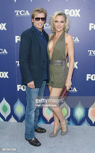 Actor Denis Leary and Elaine Hendrix attend the FOX Summer TCA Press Tour on August 8, 2016 in Los Angeles, California.