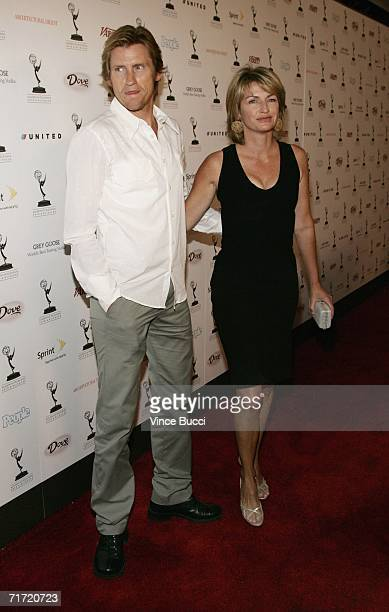 Actor Denis Leary and wife Ann attend the Academy of Television Arts and Sciences' reception honoring the 58th Annual Primetime Emmy Awards nominees...