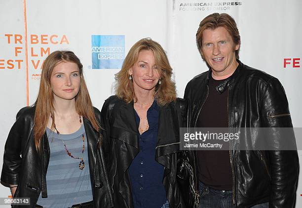 Actor Denis Leary with daughter Devin Leary and wife Ann Lembeck Leary attend the The Infidel premiere during the 9th Annual Tribeca Film Festival>>...