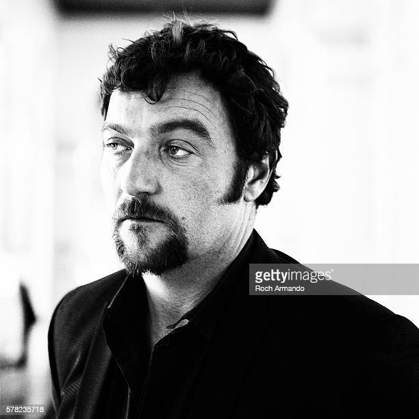 Actor Denis Menochet is photographed for Self Assignment on June 21 2012 in Cabourg France