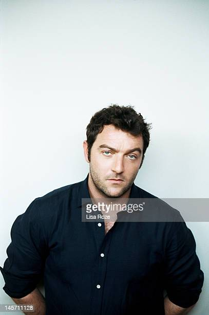 Actor Denis Menochet is photographed for Self Assignment on May 11 2012 in Paris France
