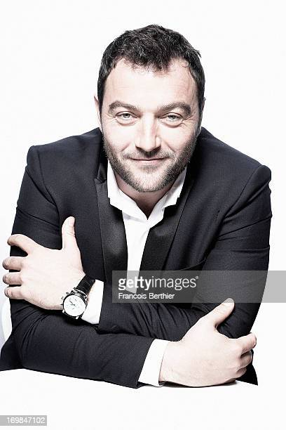 Actor Denis Menochet is photographed for Self Assignment on May 20 2013 in Cannes France