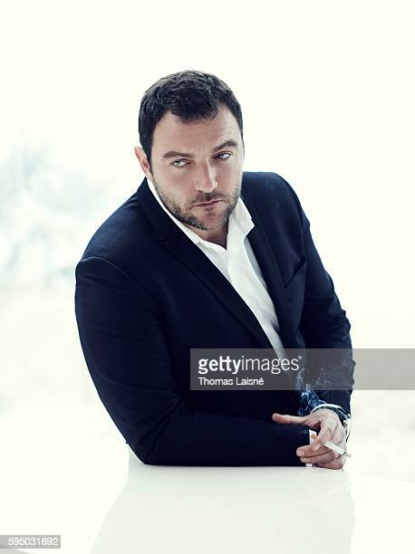 Actor Denis Menochet is photographed for Self Assignment on May 23 2013 in Cannes France