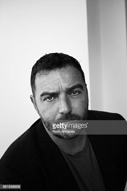 Actor Denis Menochet is photographed for Self Assignment on October 3 2015 in Dinard France