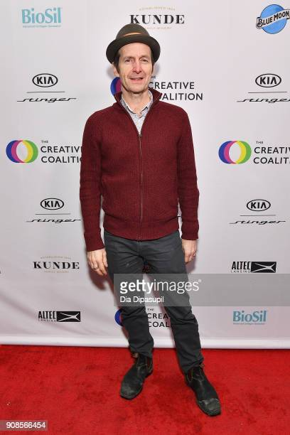 Actor Denis O'Hare attends the 2018 Spotlight Initiative Awards Gala Dinner at Kia Supper Suite on January 21 2018 in Park City Utah