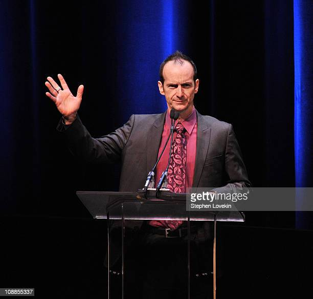Actor Denis O'Hare attends the 63rd annual Writers Guild Awards at the AXA Equitable Center on February 5 2011 in New York United States