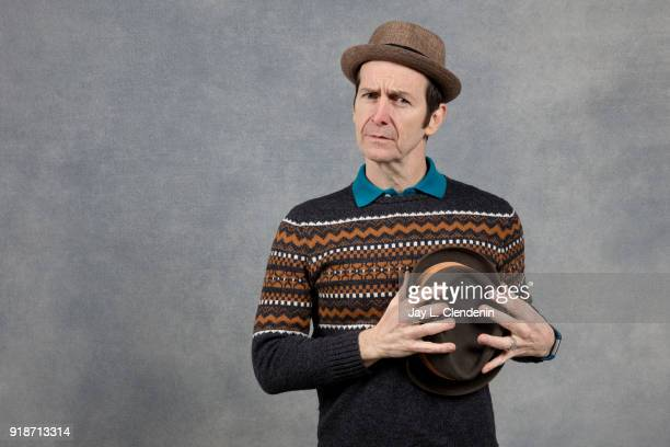 Actor Denis O'Hare from the film 'Lizzie' is photographed for Los Angeles Times on January 20 2018 in the LA Times Studio at Chase Sapphire on Main...
