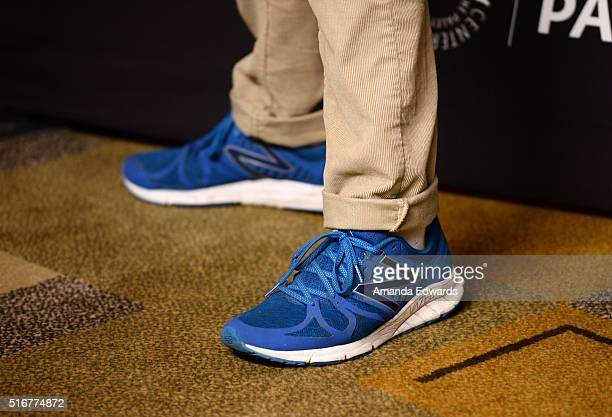 Actor Denis O'Hare shoe detail arrives at The Paley Center For Media's 33rd Annual PaleyFest Los Angeles Closing Night Presentation of 'American...