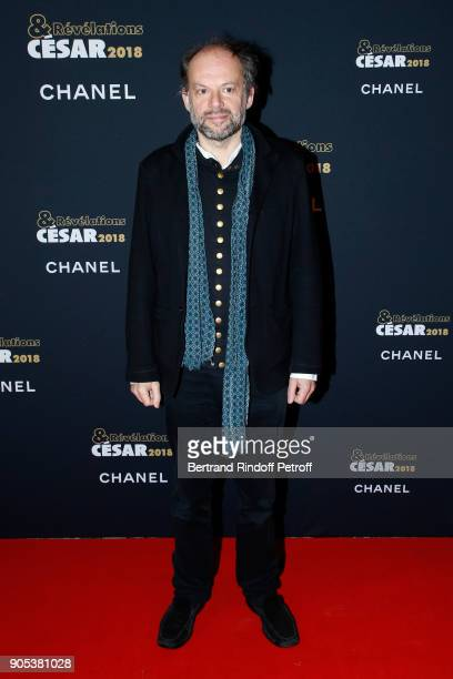 Actor Denis Podalydes attends the 'Cesar Revelations 2018' Party at Le Petit Palais on January 15 2018 in Paris France