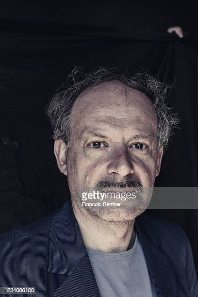 Actor Denis Podalydès poses for a portrait during the 74th Cannes International Film Festival, on July 10, 2021 in Cannes, France.