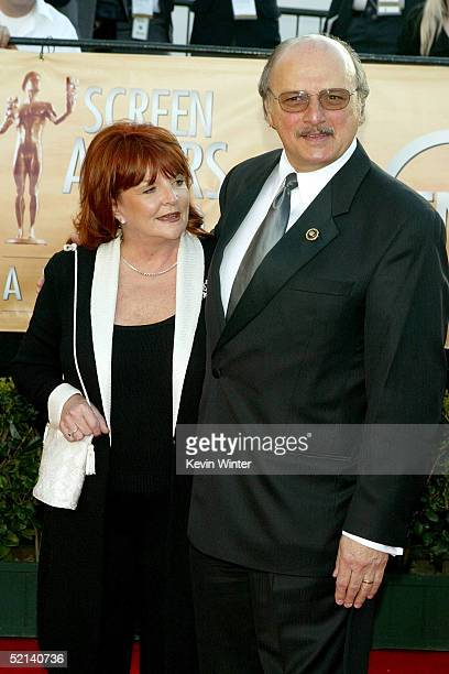 Actor Dennis Franz and his wife Joanie Zeck arrive to the 11th Annual Screen Actors Guild Awards at the Los Angeles Shrine Exposition Center on...