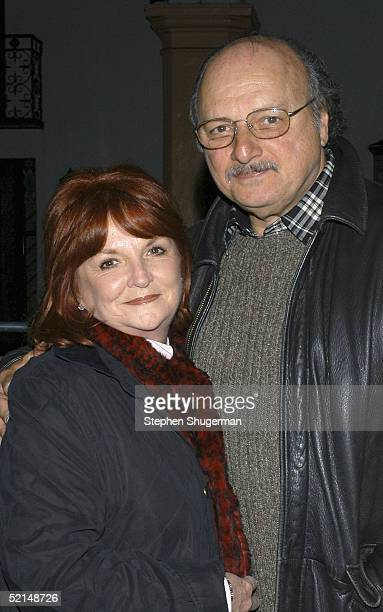 Actor Dennis Franz and his wife Joanie Zeck attend the Santa Barbara Film Festival's Closing Night World Premiere of The Moguls at The Arlington...