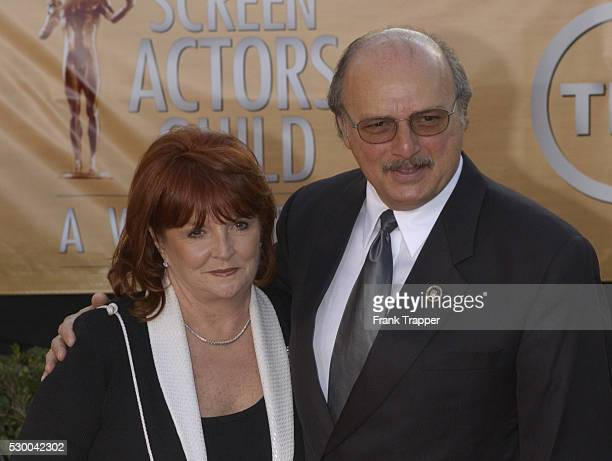 Actor Dennis Franz and Joanie Zeck arrive at the 11th annual Screen Actors Guild Awards�� held at the Shrine Auditorium