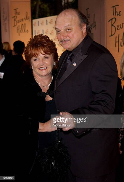 Actor Dennis Franz with his wife Joanie Zeck attend the American Film Institutes AFI Awards 2001 at the Beverly Hills Hotel January 5 2002 in Beverly...