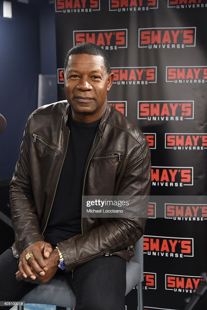 Actor Dennis Haysbert appears on Sway's Universe at SiriusXM Studio on November 22, 2016 in New York City.