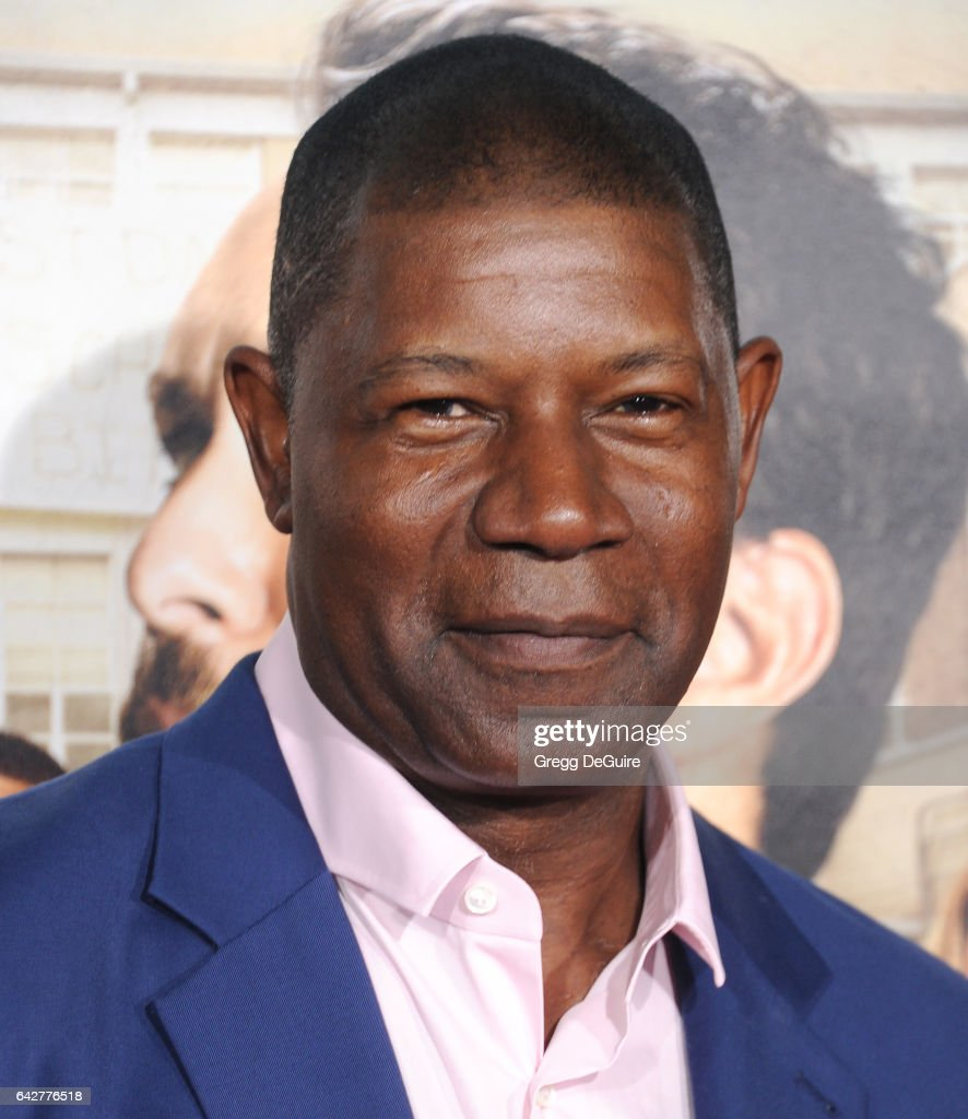 Actor Dennis Haysbert arrives at the premiere of Warner Bros. Pictures' 'Fist Fight' at Regency Village Theatre on February 13, 2017 in Westwood, California.