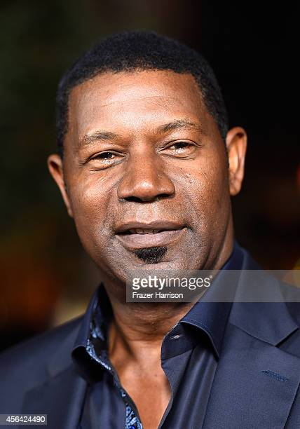 Actor Dennis Haysbert attends Paramount Pictures' Men Women Children premiere at Directors Guild Of America on September 30 2014 in Los Angeles...