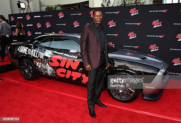 Actor Dennis Haysbert attends SIN CITY A DAME TO KILL FOR premiere presented by Dimension Films in partnership with Time Warner Cable Dodge and...