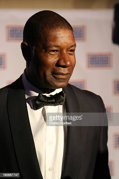 Actor Dennis Haysbert attends the 2013 USO Gala at Washington Hilton on October 25 2013 in Washington DC