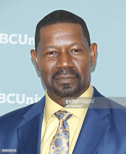Actor Dennis Haysbert attends the 2018 NBCUniversal Upfront presentation at Rockefeller Center on May 14 2018 in New York City