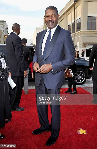 Actor Dennis Haysbert attends the 45th NAACP Image Awards presented by TV One at Pasadena Civic Auditorium on February 22 2014 in Pasadena California
