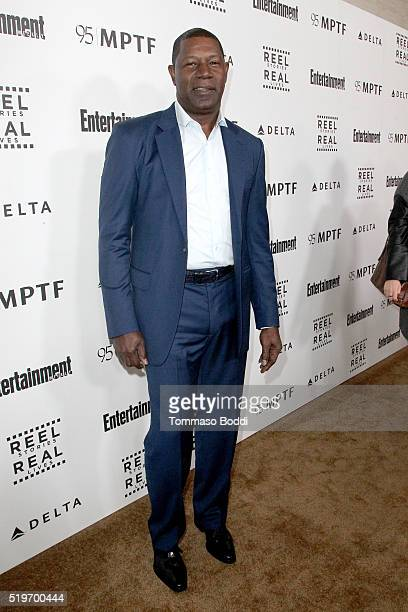 Actor Dennis Haysbert attends the 5th Annual Reel Stories Real Lives event benefiting MPTF at Milk Studios on April 7 2016 in Hollywood California