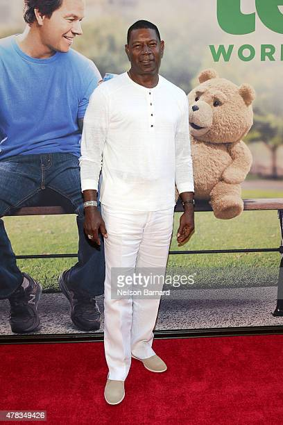 Actor Dennis Haysbert attends the New York Premiere of Ted 2 at the Ziegfeld Theater on June 24 2015 in New York City