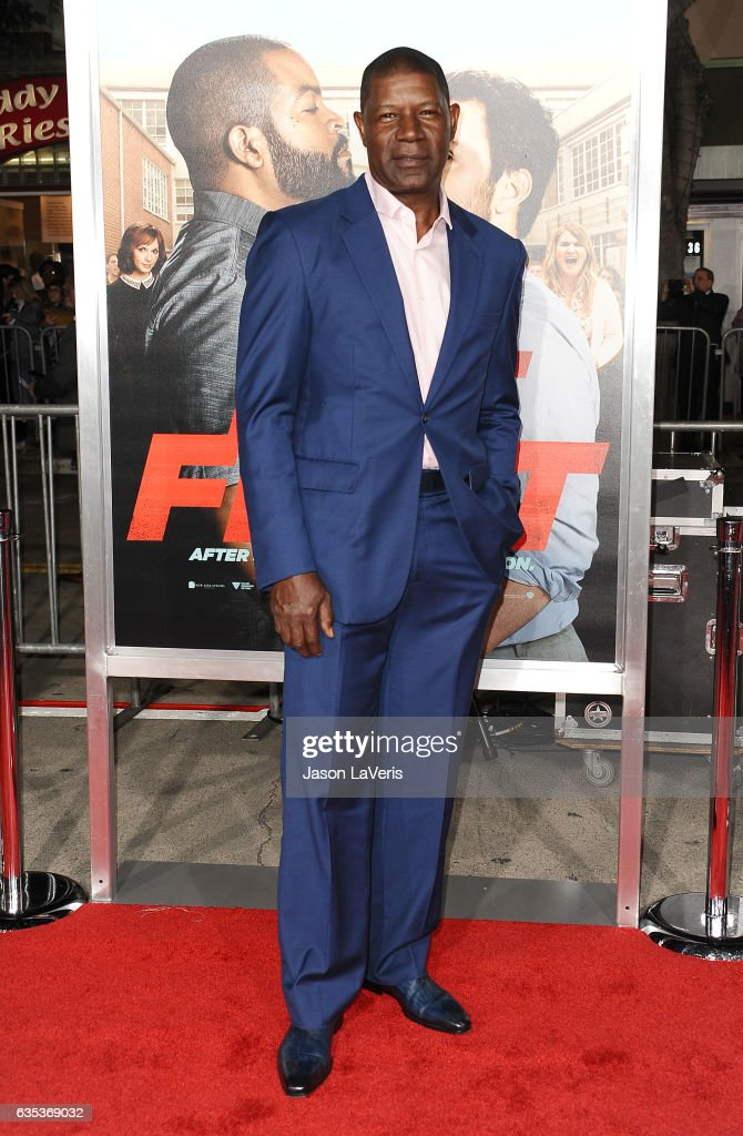 Actor Dennis Haysbert attends the premiere of 'Fist Fight' at Regency Village Theatre on February 13, 2017 in Westwood, California.