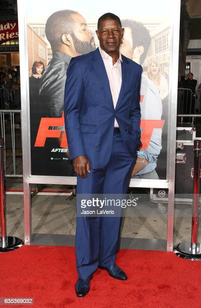 Actor Dennis Haysbert attends the premiere of Fist Fight at Regency Village Theatre on February 13 2017 in Westwood California