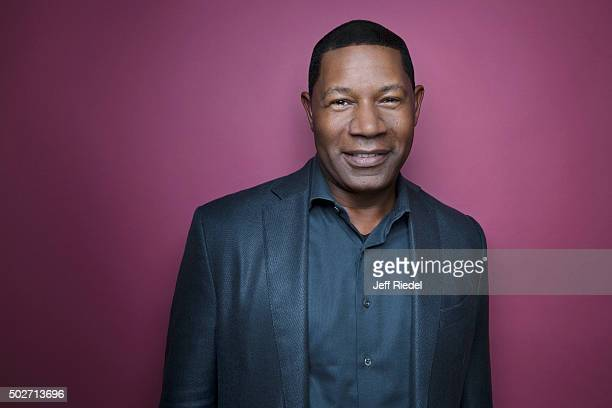 Actor Dennis Haysbert is photographed for TV Guide Magazine on January 17 2015 in Pasadena California