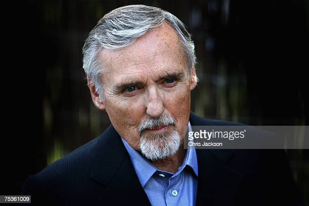 Actor Dennis Hopper arrives at the Serpentine Summer party on July 11 2007 in London England