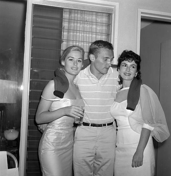Dennis Hopper At A Party