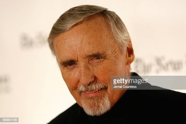 Actor Dennis Hopper attends the 18th Annual Gotham Independent Film Awards at the Museum of Finance on December 2 2008 in New York City