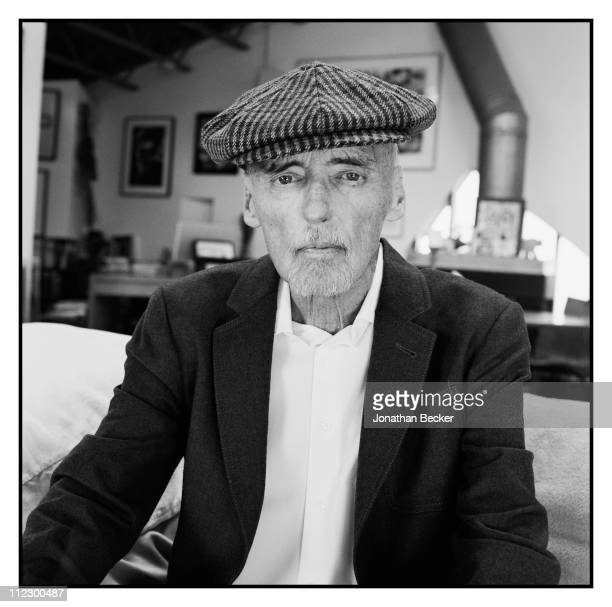 Actor Dennis Hopper is photographed at home for Vanity Fair Magazine on August 1, 2010 in Venice, California.