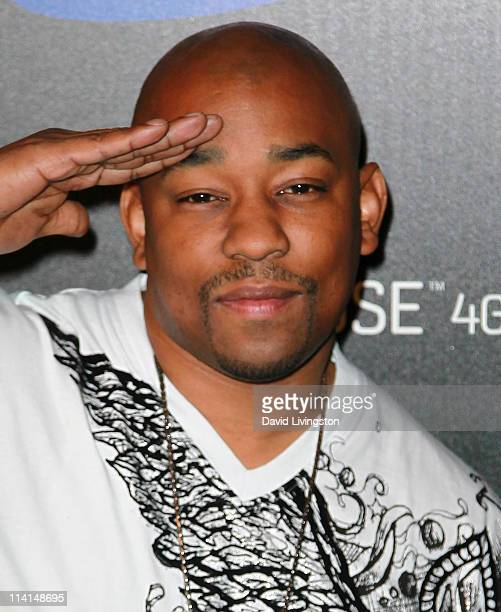 Actor Dennis LA White attends the Samsung Infuse 4G launch event featuring Nicki Minaj at Milk Studios on May 12 2011 in Los Angeles California