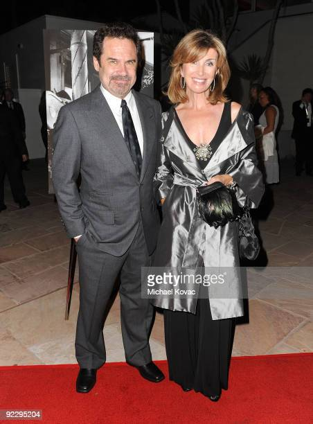 Actor Dennis Miller and wife Carolyn Epsley attend the Santa Barbara International Film Festival's Kirk Douglas Award Gala at the Biltmore Four...