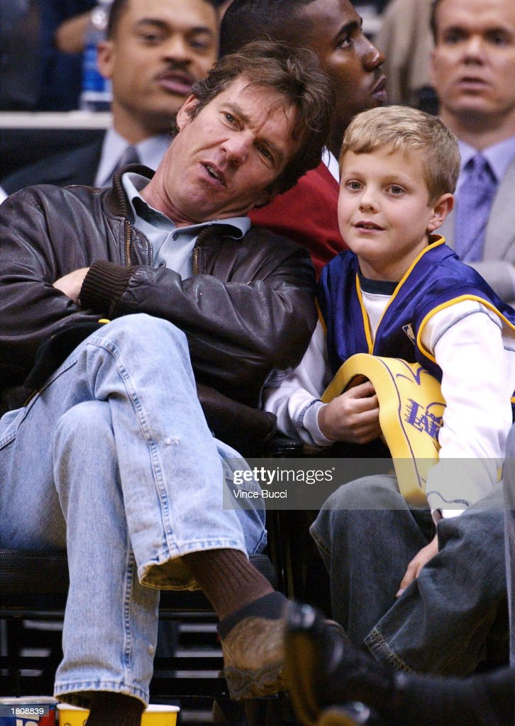 Celebrities Attend Lakers Game in Los Angeles : News Photo