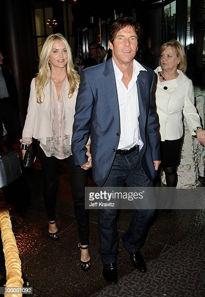 Actor Dennis Quaid and wife Kimberly Quaid arrive to the HBO premiere of 'The Special Relationship' held at Directors Guild Of America on May 19 2010...