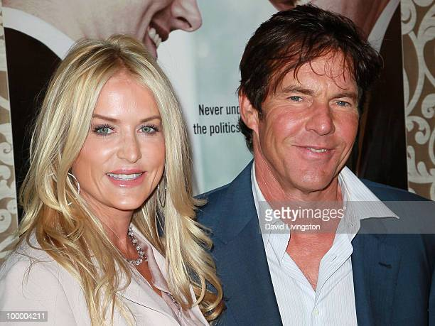 Actor Dennis Quaid and wife Kimberly Quaid attend the premiere of HBO Films 'The Special Relationship' at the Directors Guild of America on May 19...