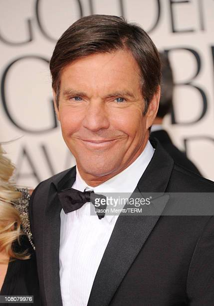 Actor Dennis Quaid arrives at the 68th Annual Golden Globe Awards held at The Beverly Hilton hotel on January 16 2011 in Beverly Hills California