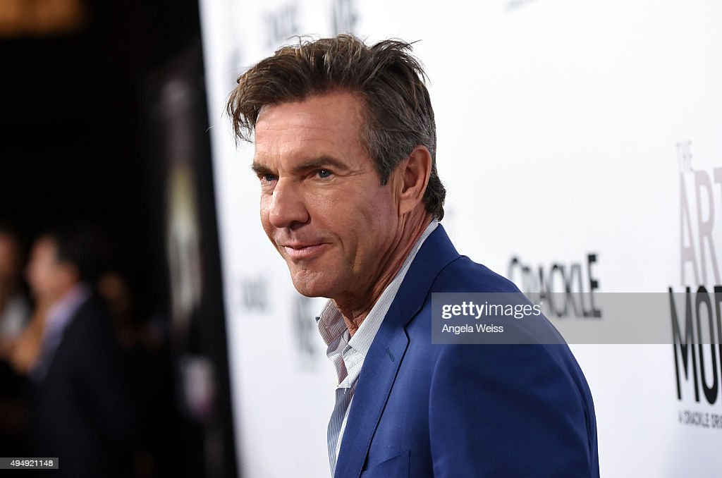 Actor Dennis Quaid arrives at the premiere of Crackle's 'The Art of More' at Sony Pictures Studios on October 29, 2015 in Culver City, California.