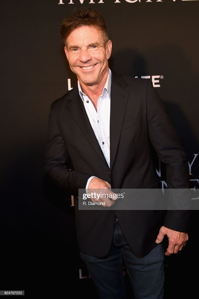 Actor Dennis Quaid attends the 'I Can Only Imagine' premiere at Schermerhorn Symphony Center on February 26, 2018 in Nashville, Tennessee.