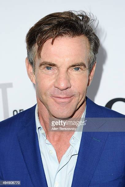 "Actor Dennis Quaid attends the premiere of Crackle's ""The Art of More"" at Sony Pictures Studios on October 29, 2015 in Culver City, California."