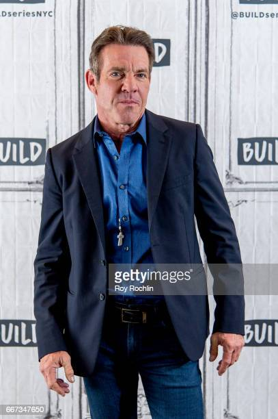 Actor Dennis Quaid discusses 'Fortitude' with the Build Series at Build Studio on April 11 2017 in New York City