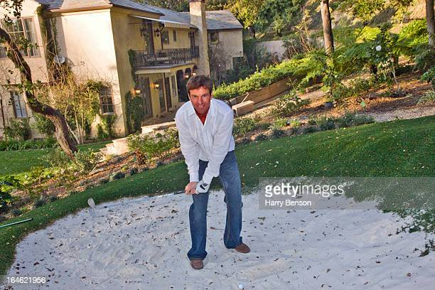 Actor Dennis Quaid is photographed for Architectural Digest in 2008 in Los Angeles California