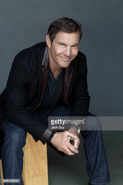 Actor Dennis Quaid is photographed for Los Angeles Confidential on August 5, 2012 in Los Angeles, California.
