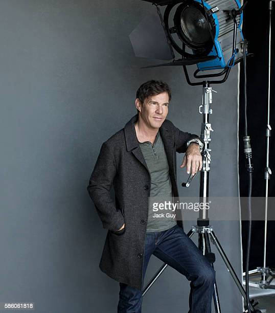 Actor Dennis Quaid is photographed for Los Angeles Confidential on August 5 2012 in Los Angeles California