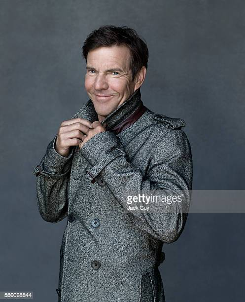Actor Dennis Quaid is photographed for Los Angeles Confidential on August 5 2012 in Los Angeles California PUBLISHED IMAGE